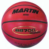 Basketball, composite leather, official size and weight, NFHS approved