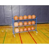 Atlas Ball Cart, Stores up to 15 balls, 51.5L x 18W x 36H