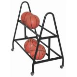 12 Volleyball Rack, Black