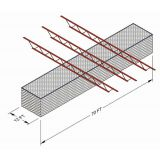 Mounting Kit D for Ceiling Suspended Cage-Spanning Perpendicular not greater than 8 ft. on center