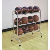 3 Tier Wide Body 12-Ball Cart, 39.5L x 8.5W x 39H