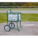 Baseball Cart with Large Capacity Basket, 17W x 24D x 16H, and 14 Tires