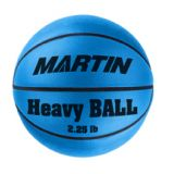 Basketball Weighted Training Junior 2.25 lbs. Blue.