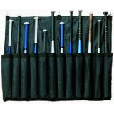 Bat Hanging Bag, holds 12 bats, attaches to any fence, carry strap