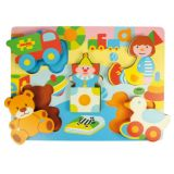 Chunky Lift Out Toys Puzzle