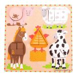 Farm Animal Sorting Board