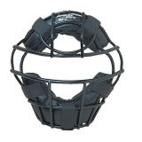 Heavy-Duty Youth Catcher's Mask with Wire Frame, Black