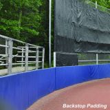 Backstop Padding, 4' x 10' x 2, Orange