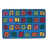 Alphabet Blocks Value Rug, 3'x4'6