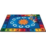 Sunny Day Learn & Play Rug, 4'5 x 5'10  Rectangle