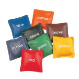 5 Colored Bean Bag Set of 8 Bags, Assorted Colors