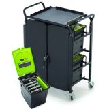 Deluxe Tech Tub Cart, 40 Devices