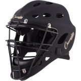 Adult Hockey Style Catcher's Mask, Fits Head Size 7 1/8-8, Matte Black