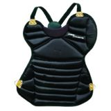 Chest protector, ages 12-16 without tail, black