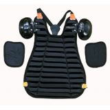 Chest protector, Umpire inside protector, black