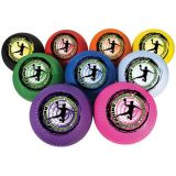 Rhino World Dodgeball Set of (9) 8.5 Assorted Colors