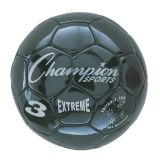 Extreme Series Size 3 Soccer Ball, Black