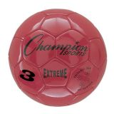 Extreme Series Size 3 Soccer Ball, Red