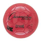 Extreme Series Size 5 Soccer Ball, Red