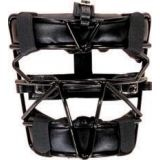 Catcher's Mask, softball model, harness included, black
