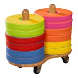 Donut™ Multi-Seat Cart including 12 Bi-Color Cushions