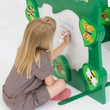 Back to Nature™ Interactive Mirror & Magnetic Whiteboard Room Divider