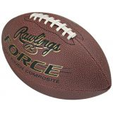 FORCE Composite Leather Football, No Stripe, Official Size