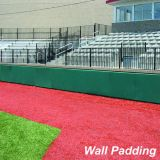 Foam Field Wall Padding, 4' x 10', Black