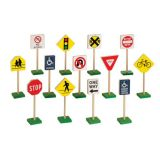 7 Block Play Traffic Signs