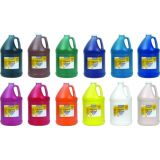 Washable Tempera Paint, Gallon 12/SET