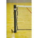 Deluxe Indoor Tennis Posts, 3 Round, Green