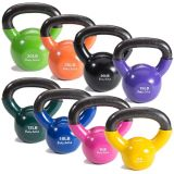 Vinyl Coated Kettle Bells, 5 lbs.