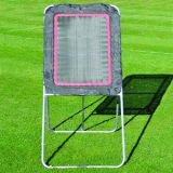 Lacrosse Rebound Net with Adjustable Rebounder, 4'W x 8'H