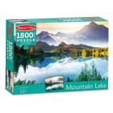 Mountain Lake Cardboard Jigsaw Puzzle - 1500 Pieces