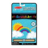 On the Go Scratch Art® Hidden-Picture Pad: Safari Animals