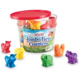 Jumbo Farm Counters, Set of 30