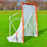 Lacrosse Folding Goal, 6'x6', Attached Net, Carry Bag Included