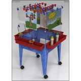 4-Station Space Saver Easel