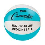 Leather Medicine Ball, 17-18 Lbs.