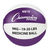 Leather Medicine Ball, 19-20 Lbs.