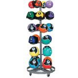 Select Medicine Ball Rack, Holds 24 Balls, 29Lx29Wx71H