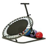 Medicine Ball Rebounder with Ball Tray, 40Lx40Wx43H