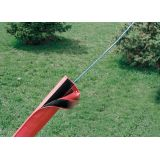 Protective Wire/Tent Rope Pad (Red)