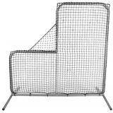 Pitching Safety Screen with Steel Frame and Heavy Nylon Netting, 6'