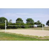 Coastal Competition Net for Sand Volleyball System