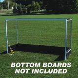 Official Field Hockey Goal w/o Bottom Boards, 7'H x 12'W x 4'D, Nets not included