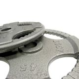 Individual Cast Grip Olympic Plates 10 lbs.