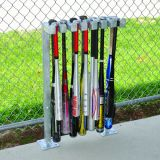 Baseball Permanent Bat Rack, Holds 14 Rats