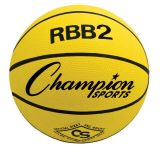 Pro Rubber Basketball, Junior Size 5, Yellow