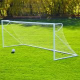 Round Club Goal with Powder coated finish, White Mesh Net Included, 4'6H x 6'W x 2B x 5'D